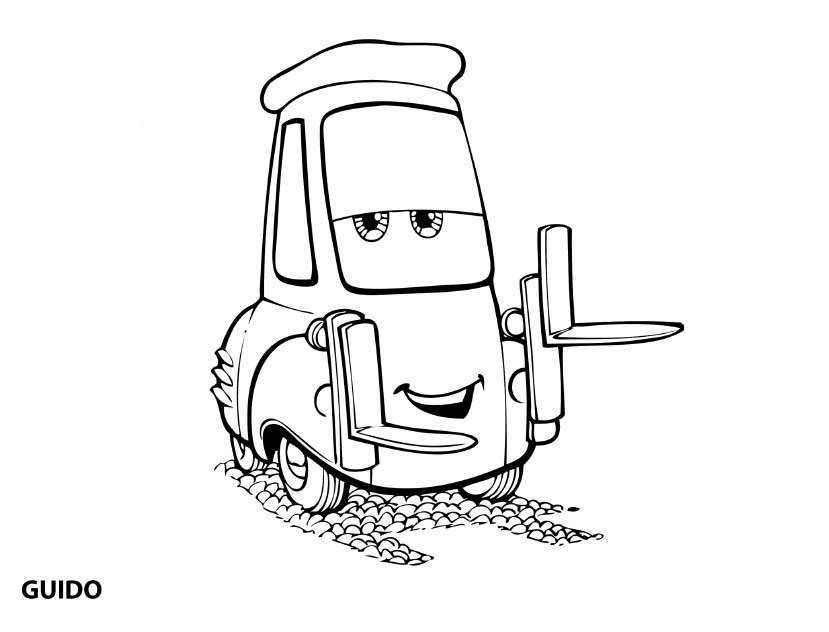 Good Printable Cars Coloring Pages Free
