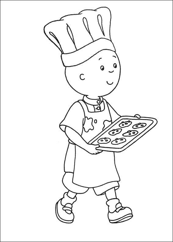 Caillou Coloring Pages Free Printables
