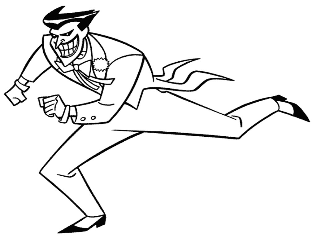 joker coloring pages to print | Joker Coloring Pages - Best Coloring Pages For Kids