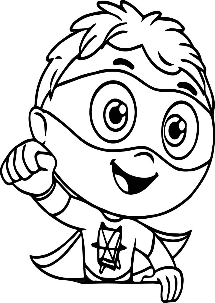 Download Free Super Why Coloring Pages