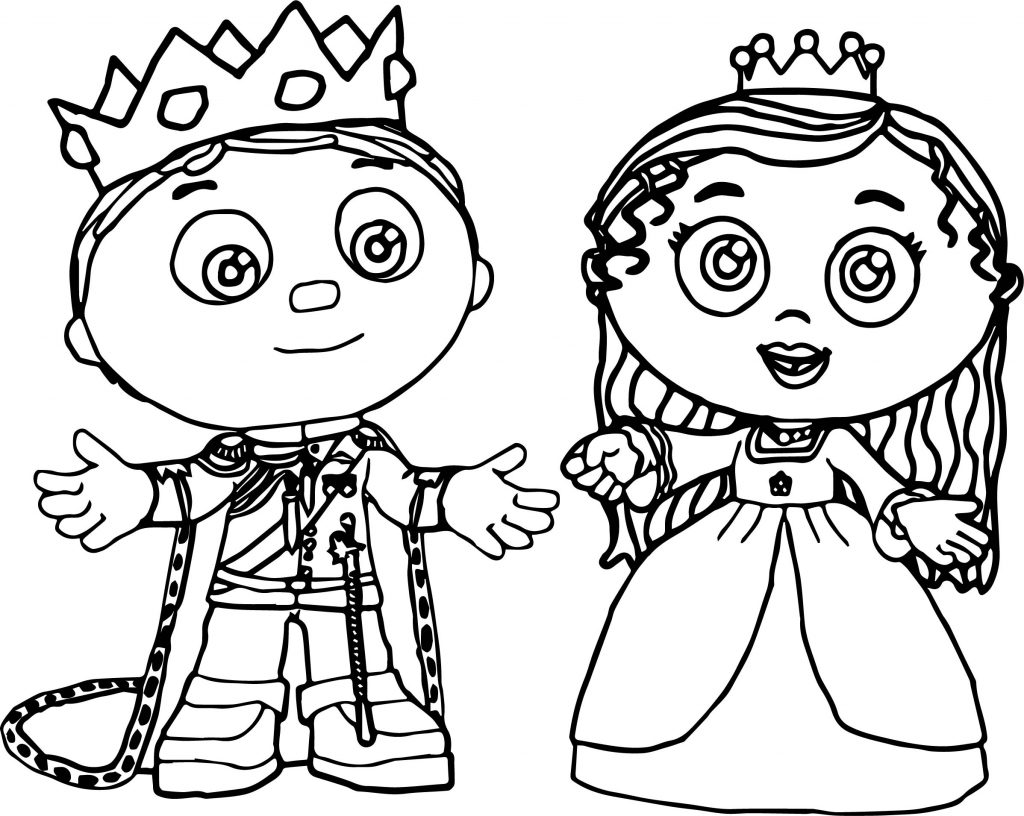Super Why Coloring Page Printables