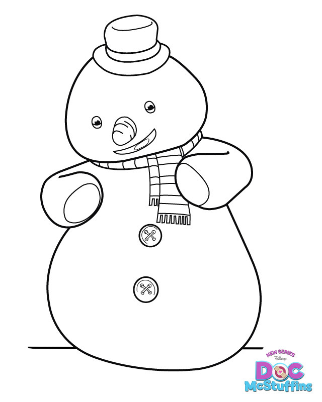 Chilly - Doc McStuffins Coloring Pages