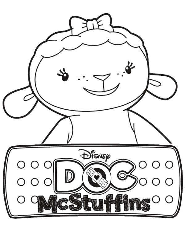 Color Lambie - Doc McStuffins