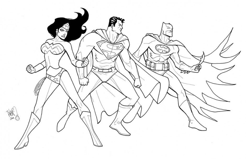 Justice League Coloring Pages - Best Coloring Pages For Kids