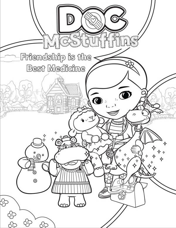 doc muffins coloring pages - photo#7