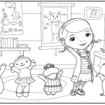 Fun Doc McStuffins Coloring Pages
