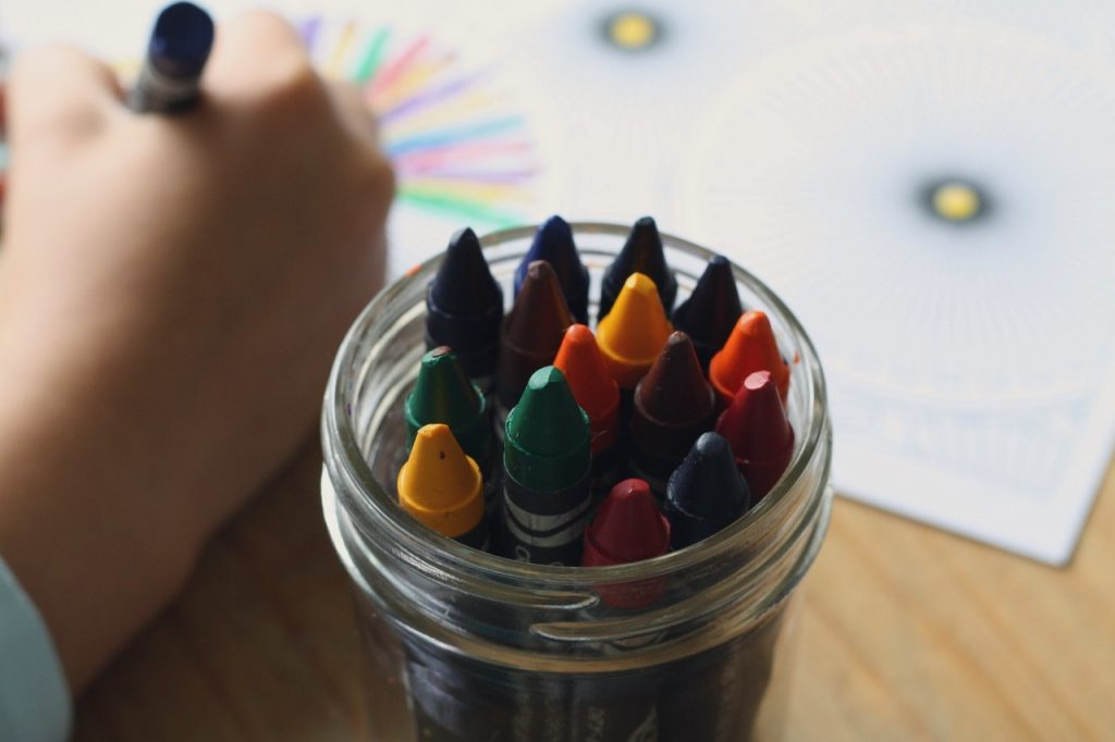 coloring your way through grief