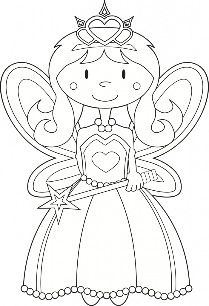 princess and coloring pages - photo#20