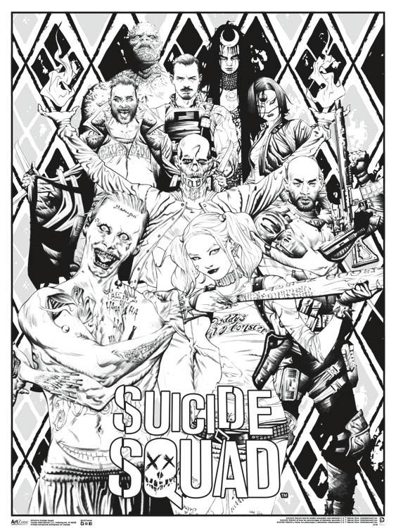 Color Suicide Squad