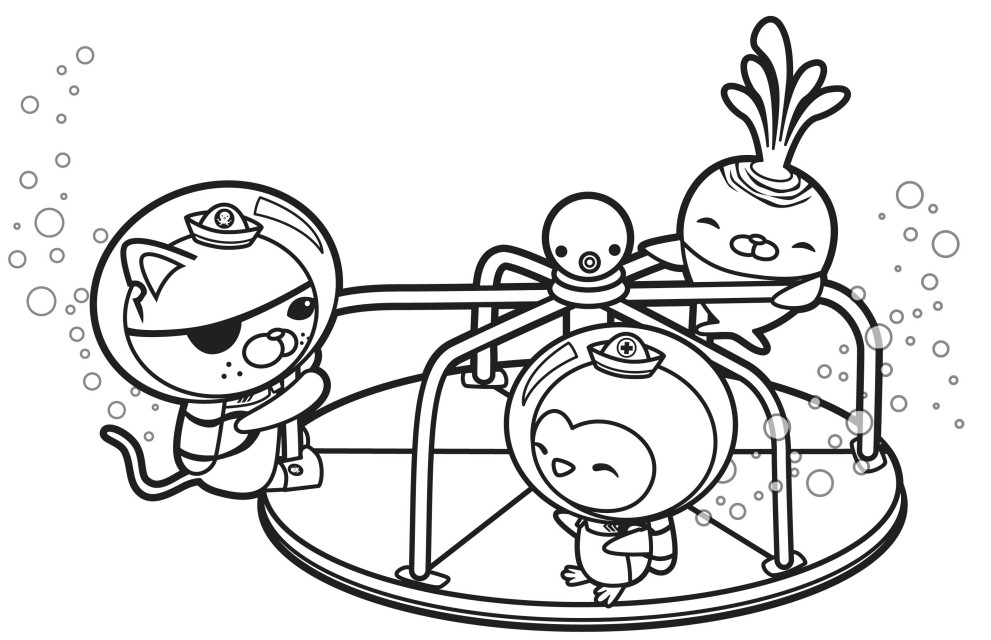 octonauts coloring pages best for kids