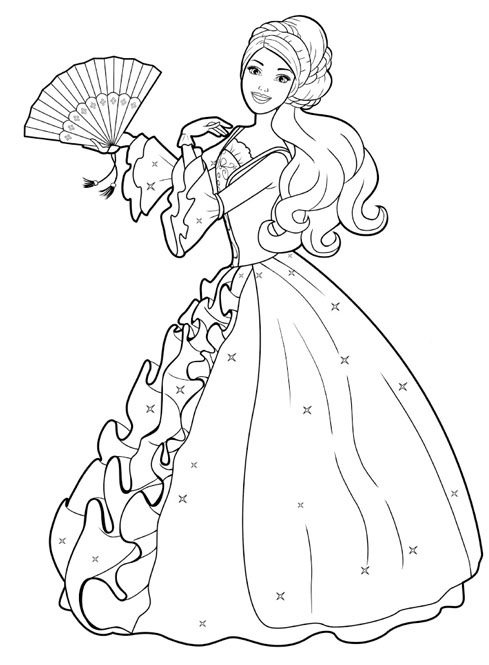 Free Printable Princess Coloring Pages
