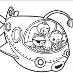 Octonauts Coloring Pages Printables