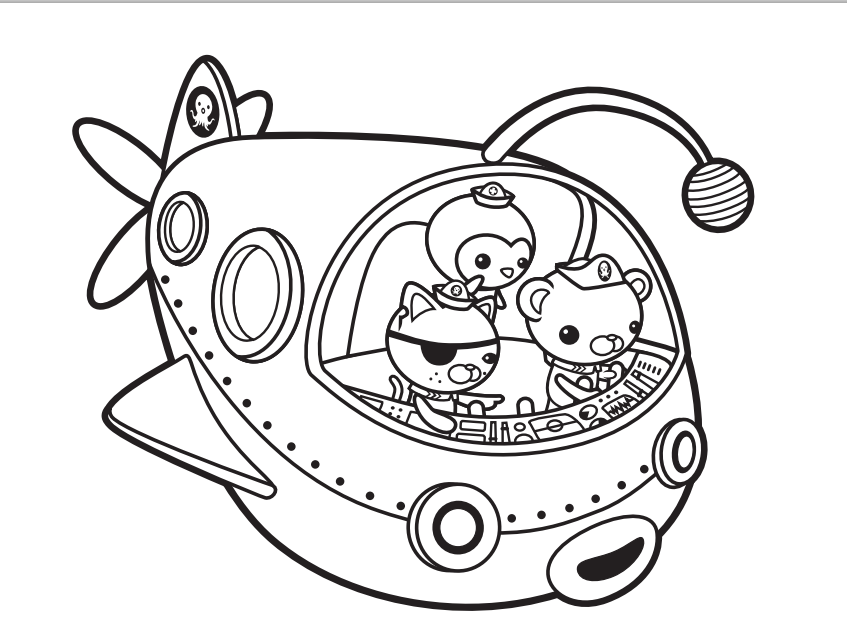 picture about Octonauts Printable referred to as Octonauts Coloring Webpages - Ideal Coloring Internet pages For Little ones