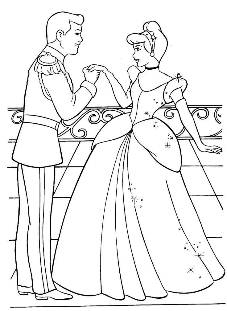 princess and coloring pages - photo#13