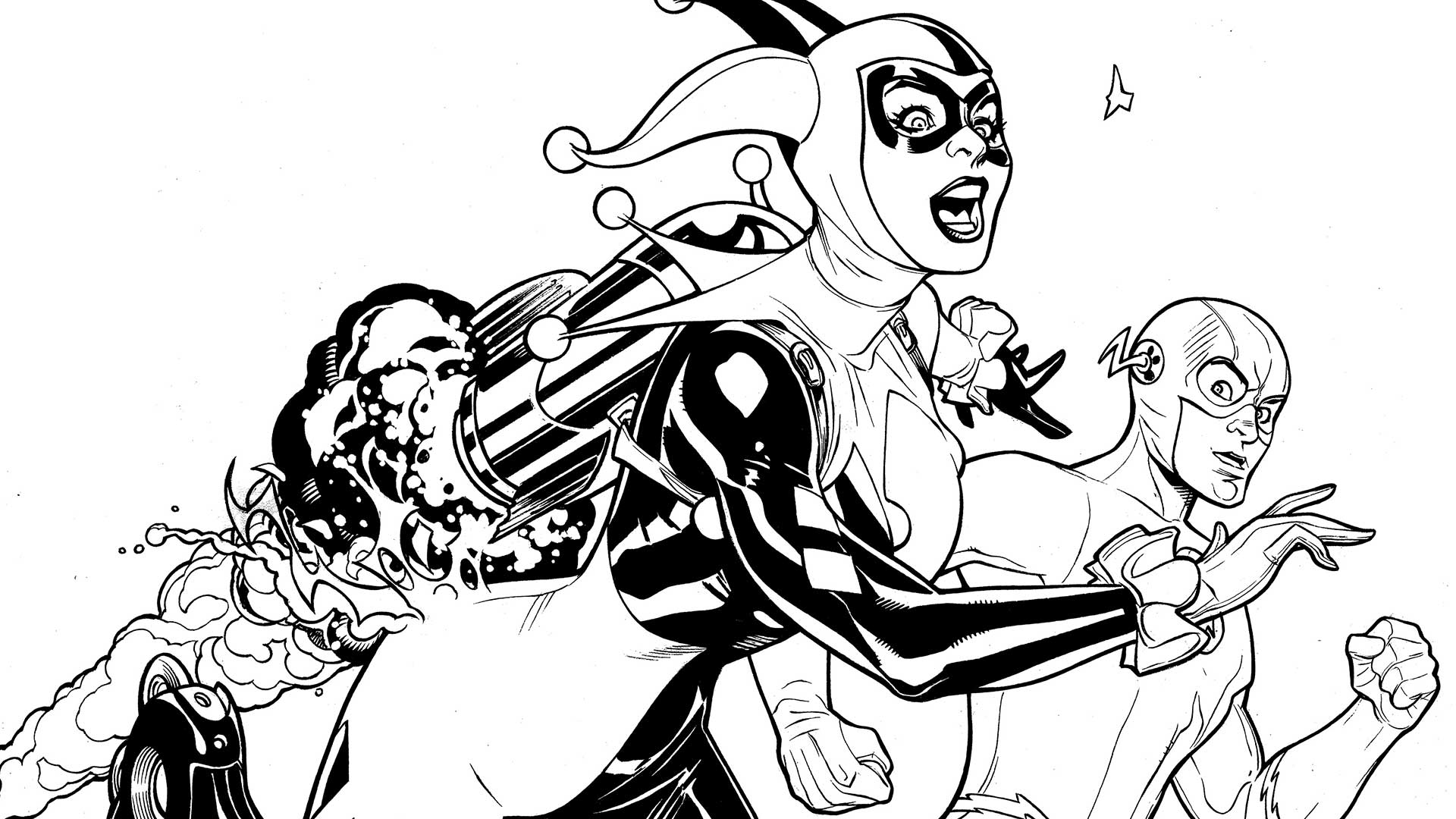 Suicide Squad Coloring Pages