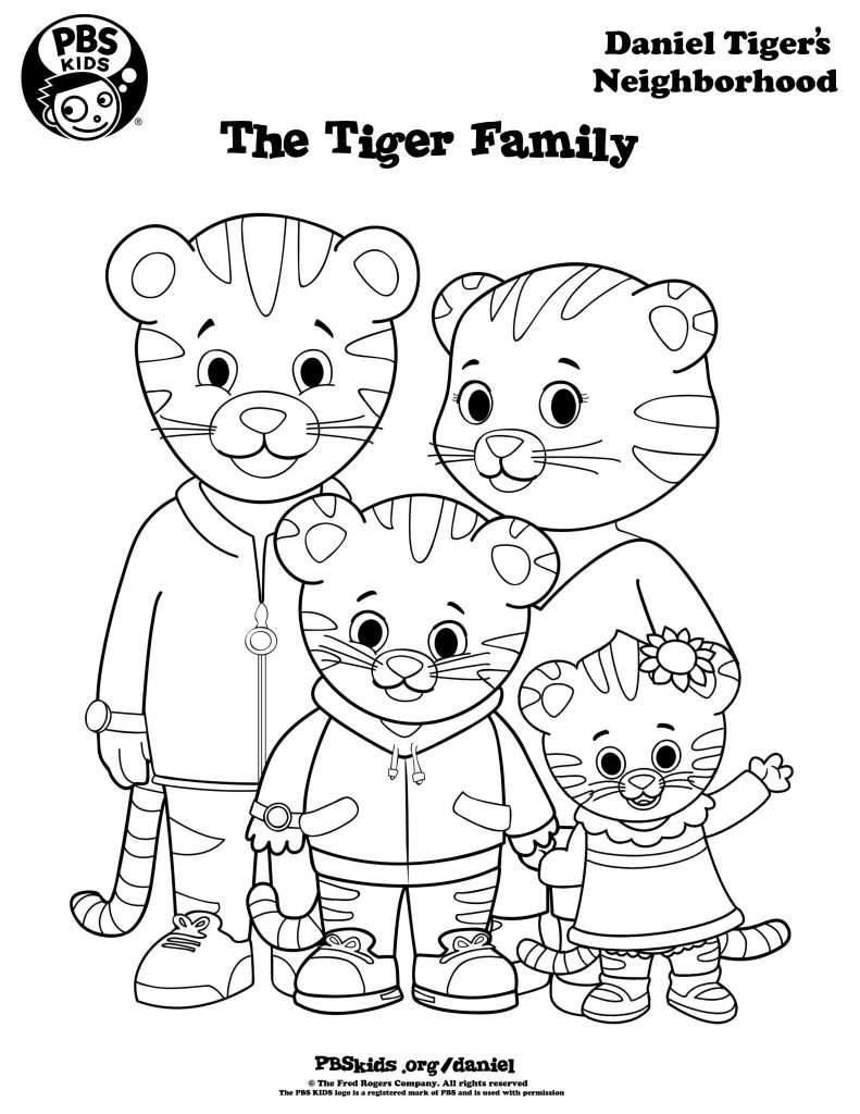 Owl Coloring Pages From Daniel Tiger