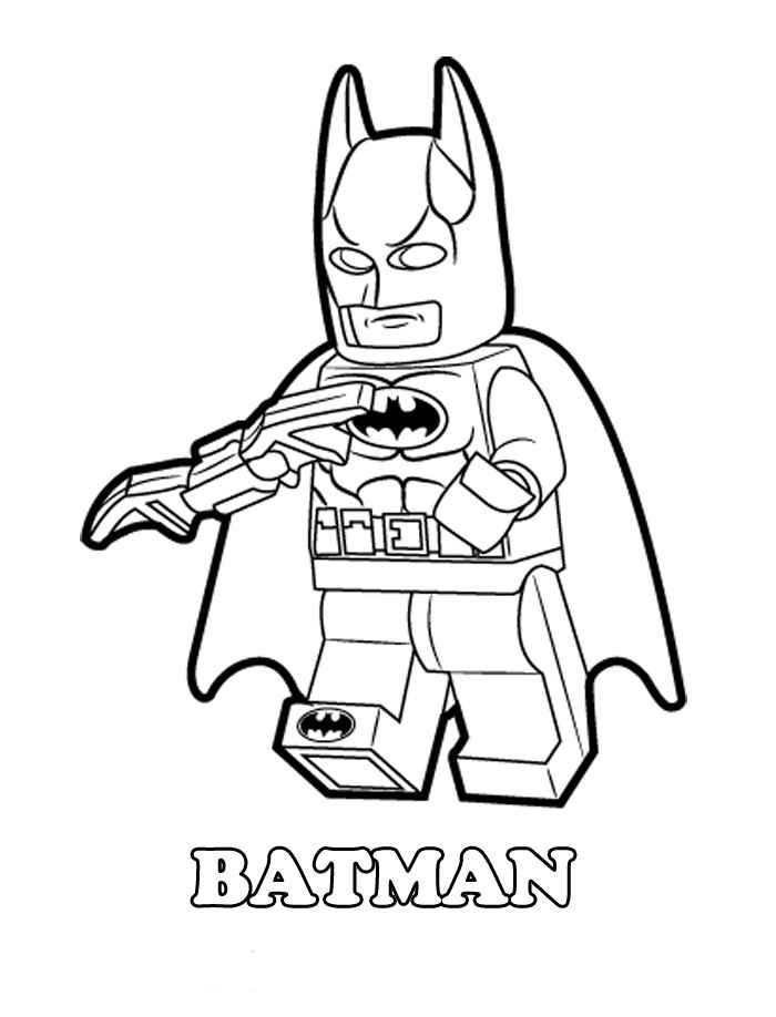 free printable coloring pages of batman | Lego Batman Coloring Pages - Best Coloring Pages For Kids