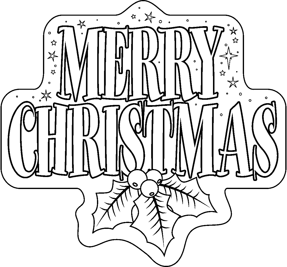 free printable coloring christmas pages - photo#48