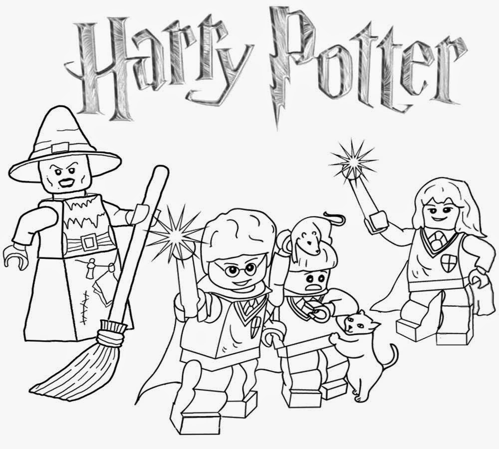 Wild About Harry >> Lego Coloring Pages - Best Coloring Pages For Kids