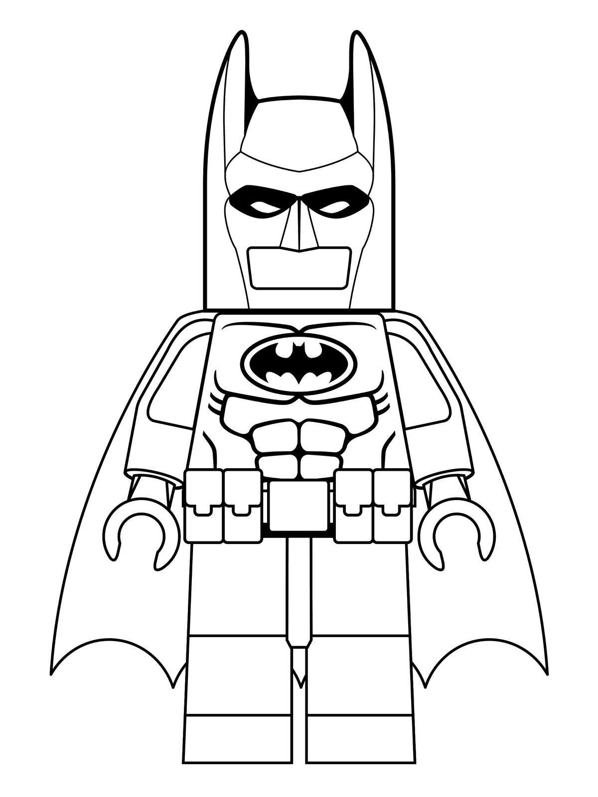 graphic regarding Free Printable Batman Coloring Pages known as Lego Batman Coloring Internet pages - Least complicated Coloring Internet pages For Children