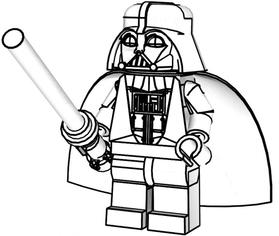Darth Vader Coloring Pages - Best Coloring Pages For Kids