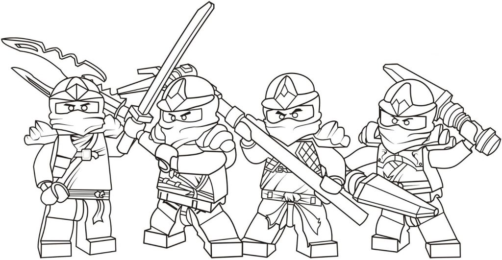 Lego Ninjago - Free Lego Coloring Pages