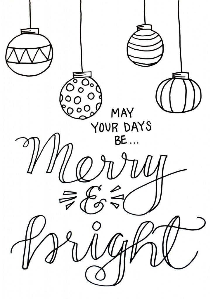 free printable merry christmas coloring pages. Black Bedroom Furniture Sets. Home Design Ideas
