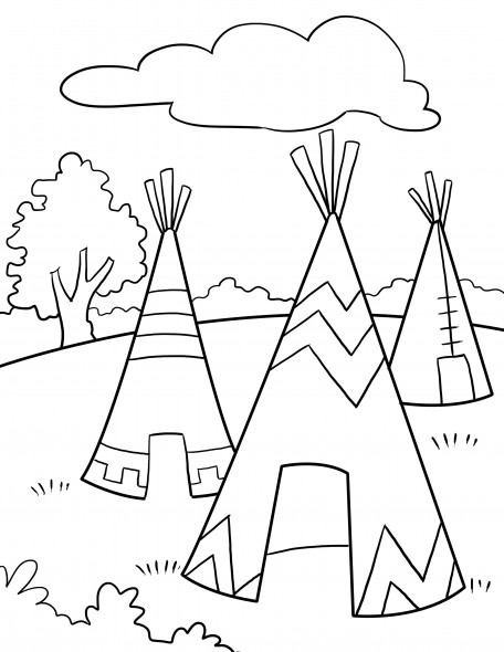 native american history coloring pages - photo#35
