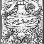 Ornament - Christmas Coloring Pages for Adults