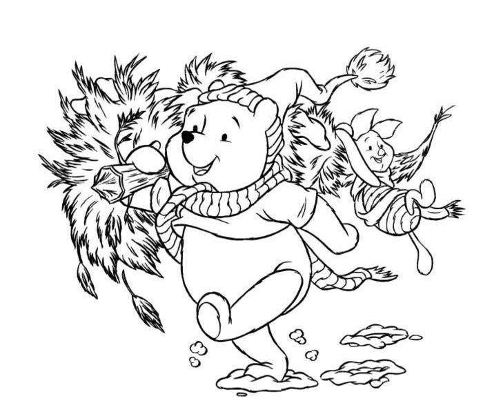 Disney Christmas Coloring Pages Best Coloring Pages For Kids