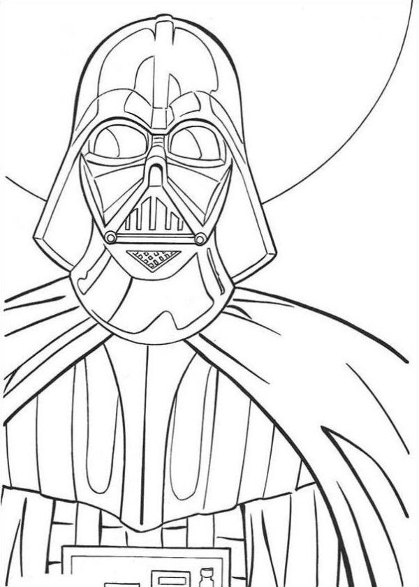 Print Free Darth Vader Coloring Pages