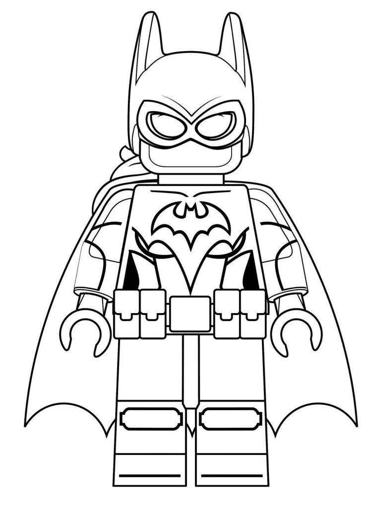 Lego Batman Coloring Pages Best