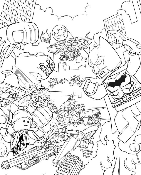 Delightful Print Lego Batman Movie Coloring Pages