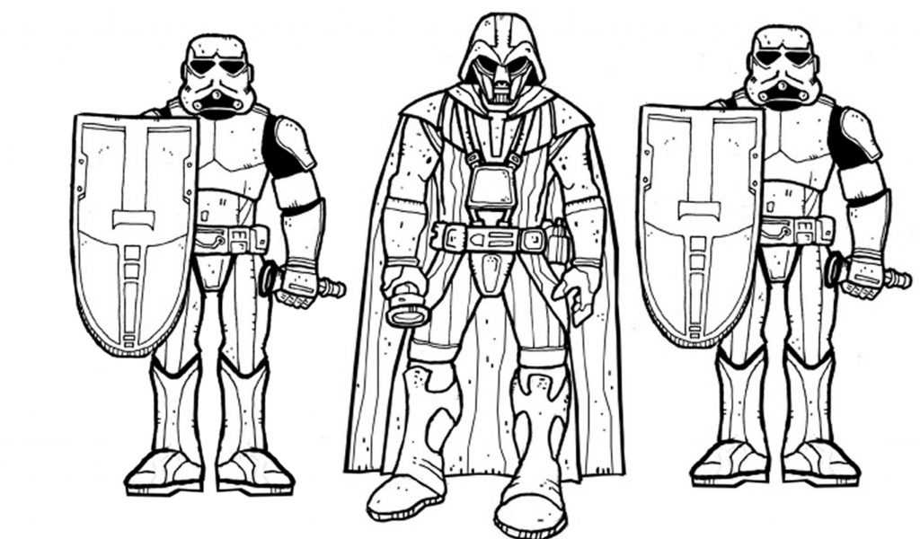 Printable Darth Vader Coloring Pages