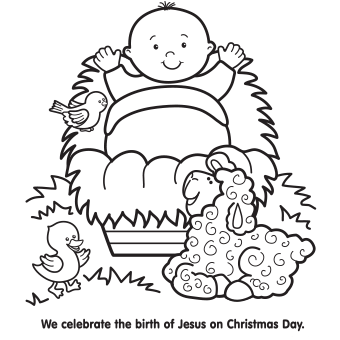 25+ unique Nativity coloring pages ideas on Pinterest | Christmas ... | 340x340