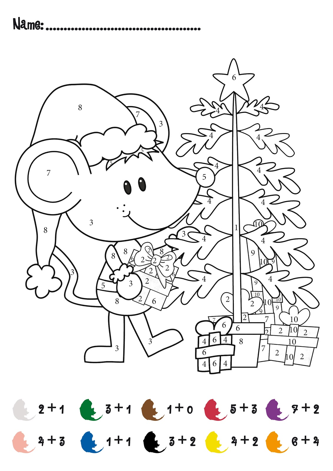 Printable Christmas Games for Kids