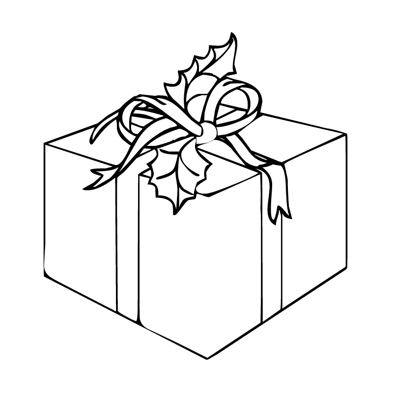 Presents Coloring Pages Best