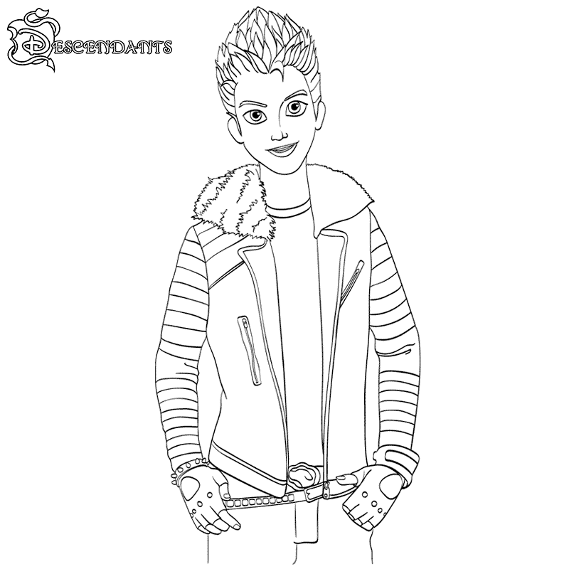 Descendants Coloring Pages - Best Coloring Pages For Kids