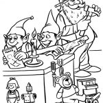 Workshop - Santa Coloring Pages