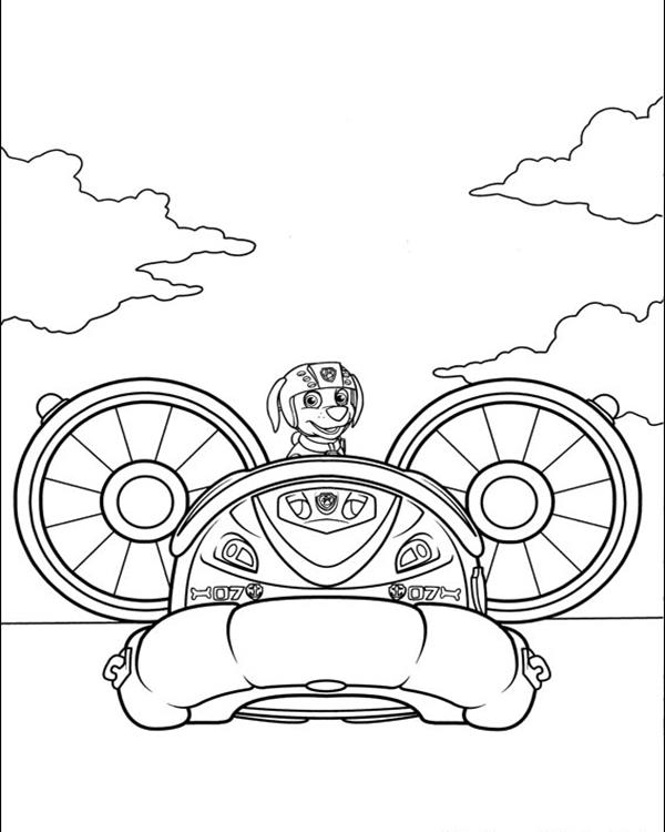 Download Paw Patrol Coloring Pages