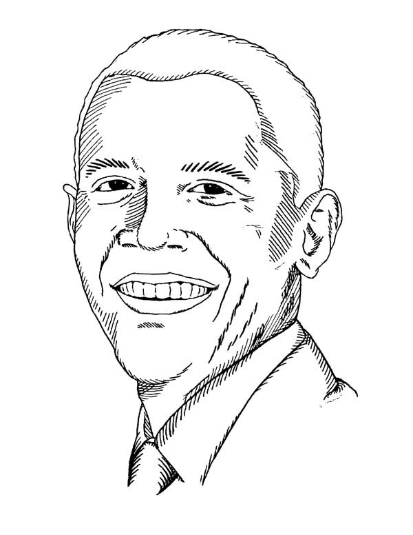 Barack Obama Coloring Pages Best