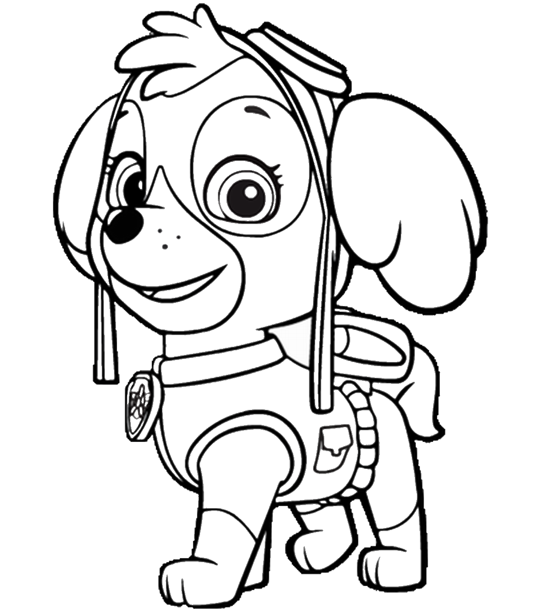 photo regarding Printable Paw Patrol Coloring Pages named Paw Patrol Coloring Internet pages - Ideal Coloring Webpages For Young children