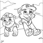 Free Paw Patrol Coloring Pages Printables
