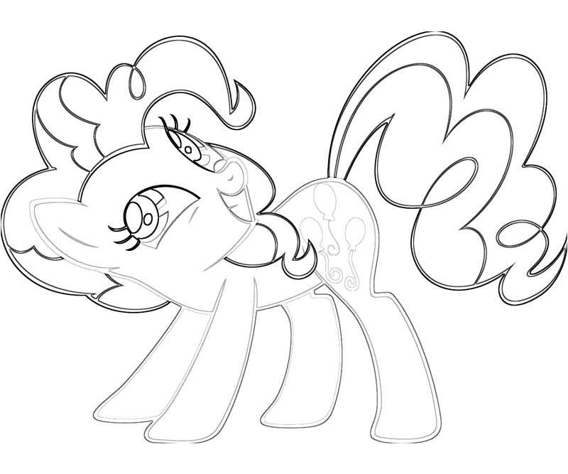 Free Pinkie Pie Coloring Pages