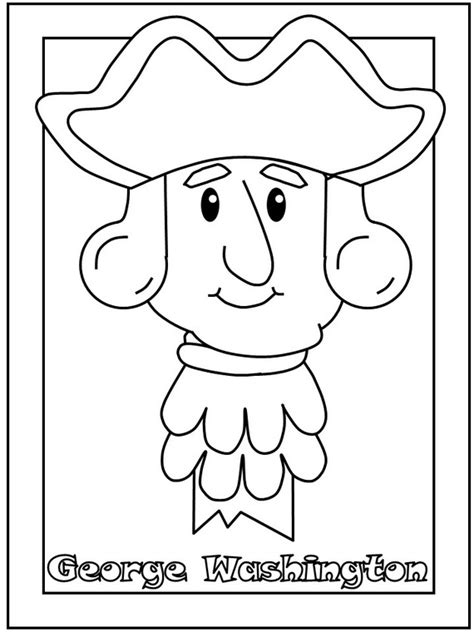George Washington Coloring Pages Best Coloring Pages For