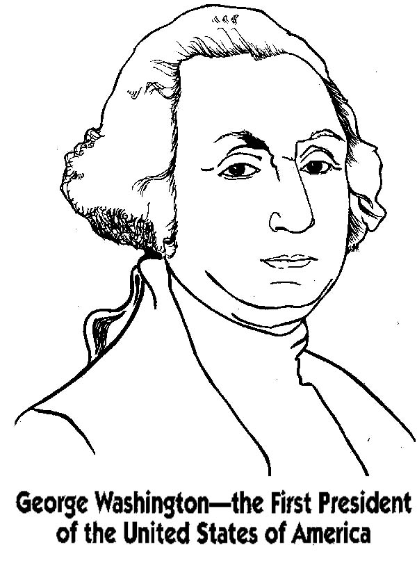 coloring pages of the president | George Washington Coloring Pages - Best Coloring Pages For ...