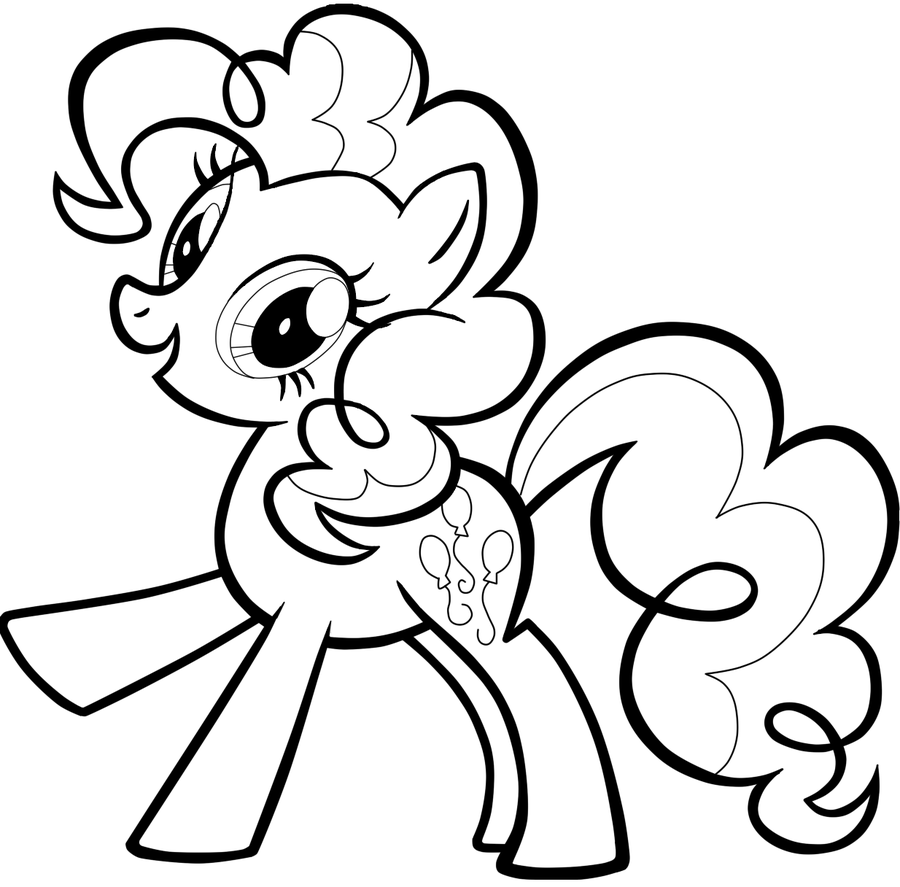 Pinkie Pie Coloring Pages Best