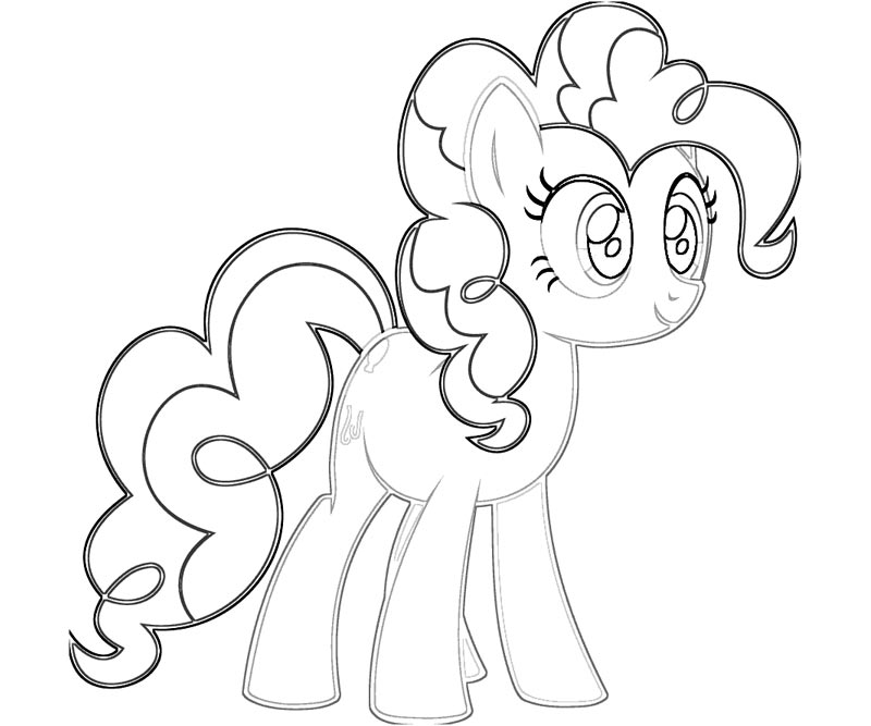 Printable MLP Pinkie Pie Coloring Pages