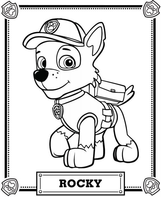 picture relating to Printable Paw Patrol Coloring Pages named Paw Patrol Coloring Webpages - Perfect Coloring Internet pages For Little ones
