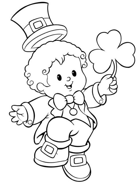 Leprechaun Coloring Pages Best Coloring Pages For Kids